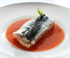 Sopas de sardinas estilo Andalucía