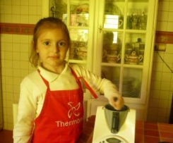Batido de chocolate Thermomix baby