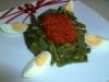 Vainas con tomate (sin glutem y sin lactosa)