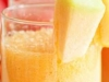 batido de durazno y mango