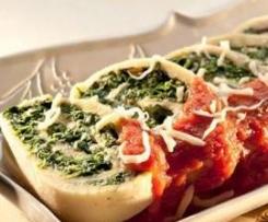 Rotolo de espinaca y requesón - Pasta fresca (Escuela de ingredientes)