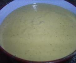 Salsa a la pimienta verde