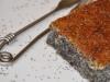 Puding crujiente de semilla de amapola