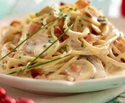 Receta Espagueti en Salsa de Queso