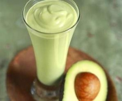 Smoothie de aguacate (Avocado smoothie)