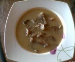 Sopa de setas de cardo