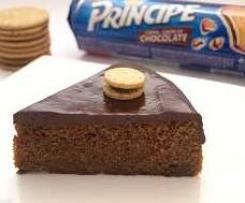 Tarta de Galletas Principe