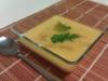 Crema de pimientos amarillos asados (vegano)