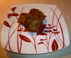 Mini hamburguesas de calabacin y almendras