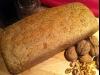 Pan integral con harina de espelta y nueces
