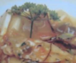 Lomo de cherne aromatizado