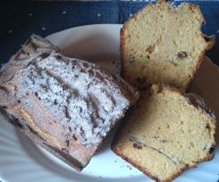 PLUM CAKE DE MANZANAS, CANELA Y PASAS