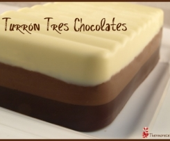 Turron tres chocolates