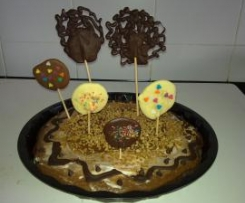TARTA DE CHOCOLATE Y MAS CHOCOLATE