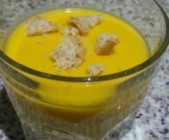 Crema de patata y calabaza