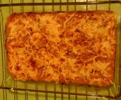 Berenjenas gratinadas con atún y tomate