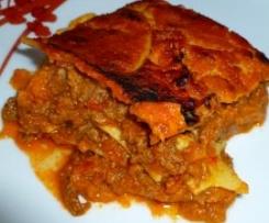 Lasaña Boloñesa (sin gluten y sin lactosa)