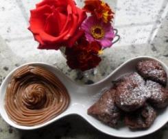 BUÑUELOS DE NARANJA Y CHOCOLATE
