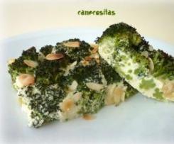 Flan de brócoli