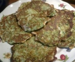 Tortitas de Brócoli