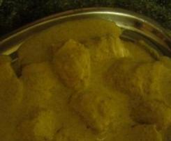 pechugas de pollo rellenas con salsa de champiñones